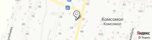 Пункт приема металлолома на карте Комсомола