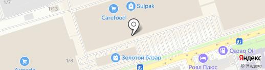 Мобилочка на карте Алматы