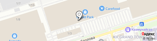 Football Shop на карте Алматы