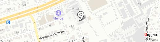 Shah на карте Алматы