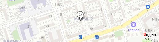 Ай Мед на карте Алматы