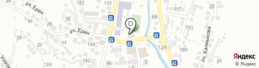 Участковый пункт полиции №107 Наурызбайского района на карте Алматы