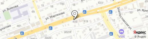 Мото Гризли на карте Алматы