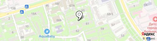 Ернур на карте Алматы
