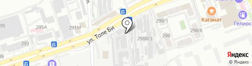 Express на карте Алматы