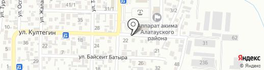 DONER STREET на карте Алматы