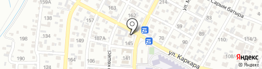 Салон по прокату национальной и карнавальной одежды на карте Алматы