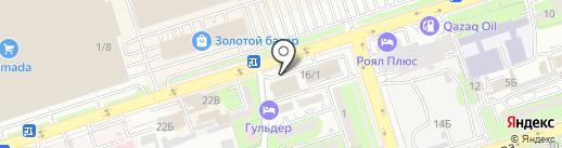 Коралл на карте Алматы