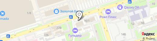 Блеск на карте Алматы