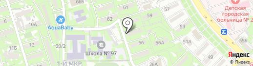 Умит на карте Алматы