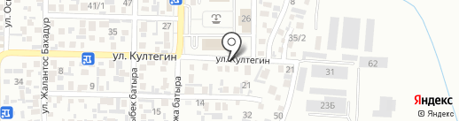 ОЖЕТ Консалтинг Сервис на карте Алматы
