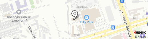 Аксиома Успеха на карте Алматы