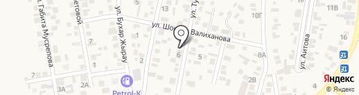 Бота на карте КазЦика