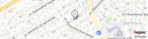 Шипа на карте Алматы