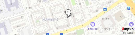 Исмир на карте Алматы