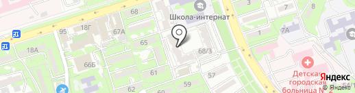 Жанга Ем на карте Алматы