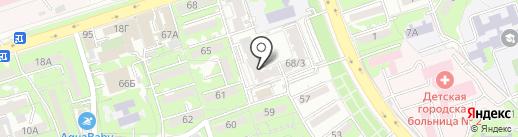 Балдаурен на карте Алматы