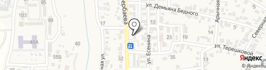 INVIVO на карте Боралдая