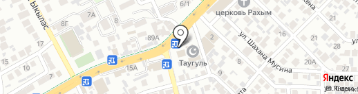 Гульмира на карте Алматы