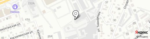 ЗОР, ТОО на карте Алматы