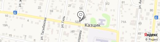 Аяужан на карте КазЦика