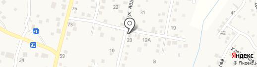 Жаркын 1 на карте Комсомола