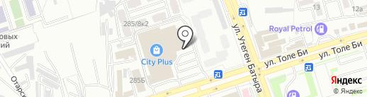 Комфорт на карте Алматы