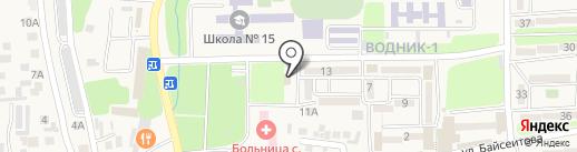 Почтовое отделение связи №040708 на карте Боралдая