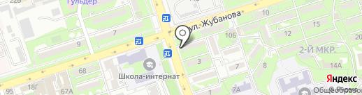 Айгуль на карте Алматы