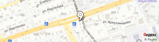 Mazda на карте Алматы