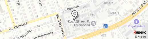 Торгово-производственная компания на карте Алматы