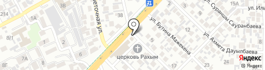 Строитель на карте Алматы