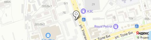 Матроскин на карте Алматы