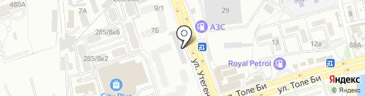 Мурат Лимо на карте Алматы