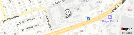 Asia Wood на карте Алматы