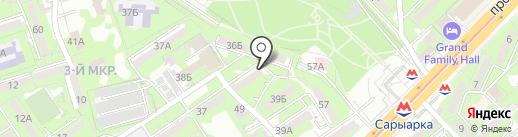 Аймырза на карте Алматы