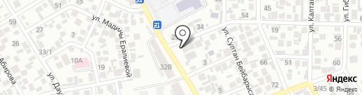 the BASE на карте Алматы