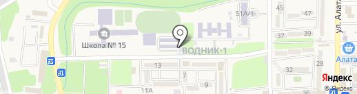 Автомойка Абдулаев М. на карте Боралдая