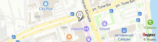 OPPEN на карте Алматы