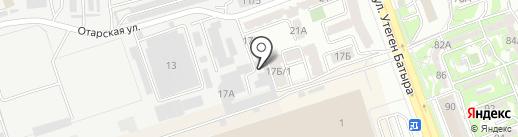 ФЛА Алматы, ТОО на карте Алматы