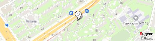 Димак, ТОО на карте Алматы