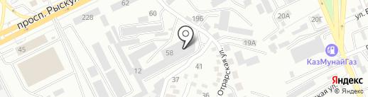 Burshak на карте Алматы