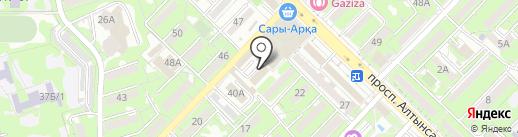 Пивас на карте Алматы