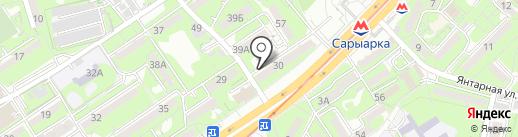 Heliac на карте Алматы
