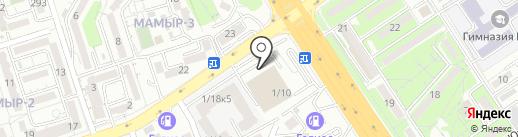 Любушка на карте Алматы