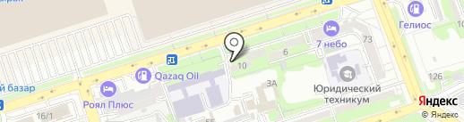 Style на карте Алматы