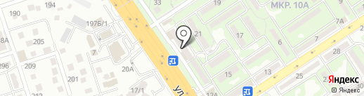 Нотариус Караева Ж.М. на карте Алматы