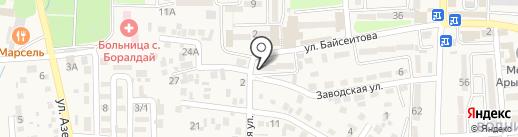 Каприз на карте Боралдая