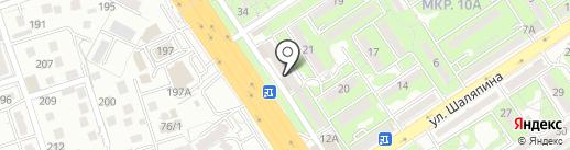 Аликон на карте Алматы