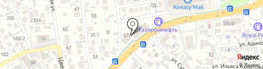 Бибигон, киоск быстрого питания на карте Алматы